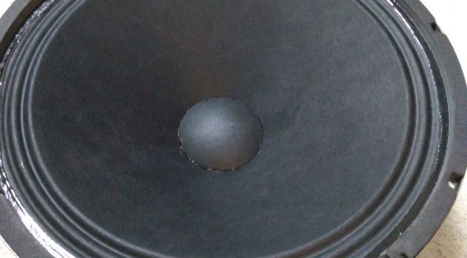 Jensen P15LL スピーカーのリコーン