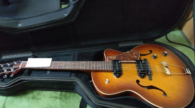 新しいギター開封の儀 Godin 5th avenue kingpin II